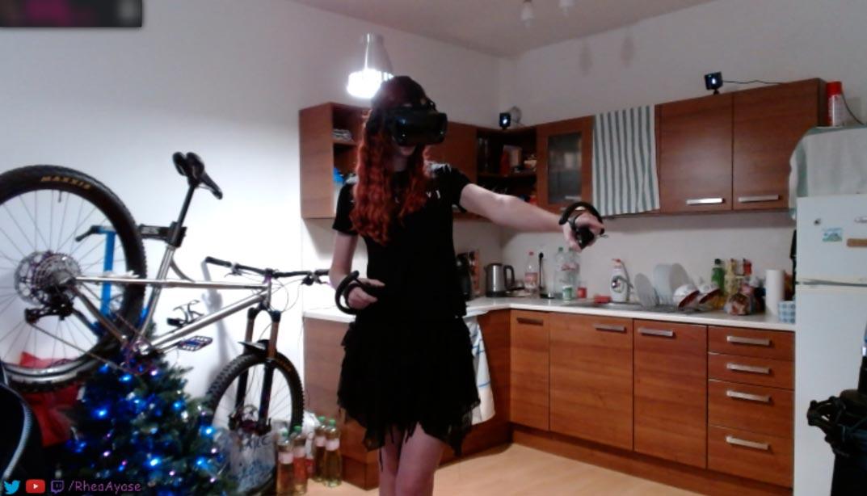 Rhea in VR